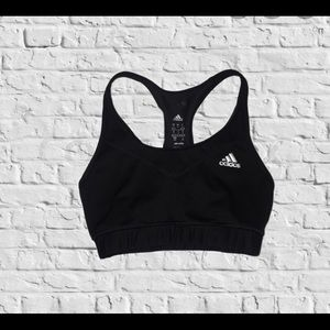 Adidas Black Sports Bra Size Small